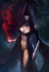 Witch by iVANTAO
