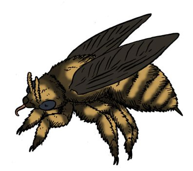 The Lost World Bestiary - Dire Bee by Pristichampsus