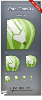 Icon Corel Draw X4 by ncrow