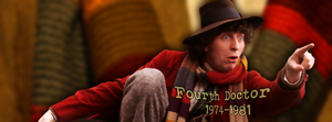 Fourth Doctor Facebook cover by Leda74