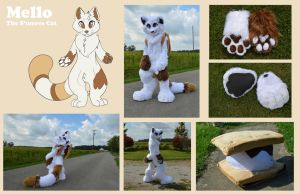 Mello Fursuit by Shadow-Crystol