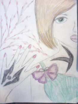 butterfly on my right shoulder by Yaoi-lover-4ever