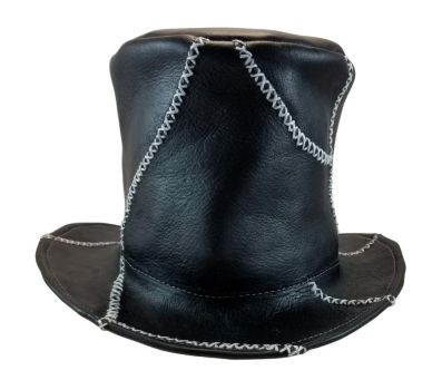 Black Patchwork Tophat by DanTheLefty