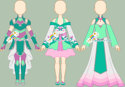 p: Outfits for Siya by Queen-of-Color