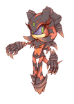 Iblis the Flame (Crystalline Form) by Cylent-Nite