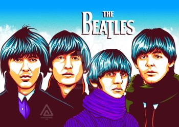 Beatles by aryakuza