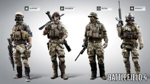 Battlefield 4: US MP soldiers by Bacurok