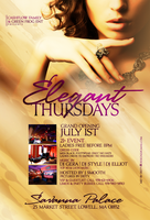 Elegant Thursdays Flyer by DeityDesignz