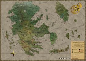 The Celesian Empire by Sapiento
