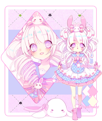 |Adoptable Auction| bunny kawaii #1| CLOSED| by Hosha-Usagi