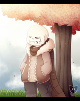[Collab/MemoTale] Just another day by BlurryNightSky