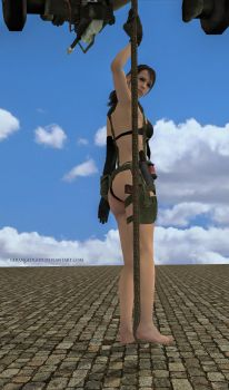 MGSV Quiet n Shyness (6) by DerangedGod