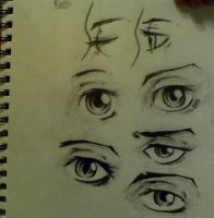 Eye Practice 2 by NowinZee