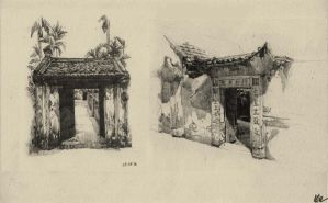 Traditional Vietnamese Architecture by lephuongmai