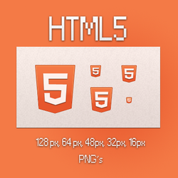 HTML5 icons by kuvaly