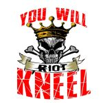 Riot YOU WILL KNEEL logo by RWhitney75