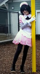 Maid Mettaton2 by Genocidal-Cosplay