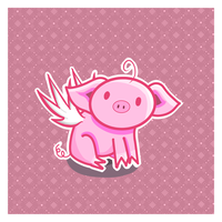 Cute pig is cute by ANGIExRxF
