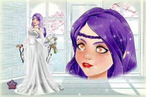Wedding Lily Angel 02 by Angel-of-Love