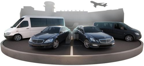 4 Mercedeses 4 Taxi by RaMoNVicious