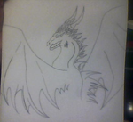 Dragon Unfinished by AbyssinalPhantom