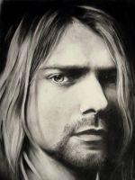 Kurt Cobain_Nirvana by Adjisketcherromance