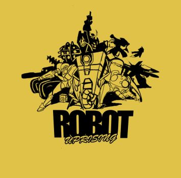 ROBOT T SHIRT by My-Melaly