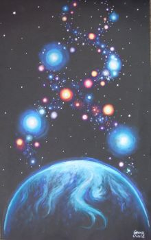 The cosmic DNA by CORinAZONe