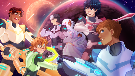 Voltron Legendary Defender by Soft-Dystopia