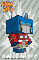 Optimus Prime template by ADRIAN-NATION
