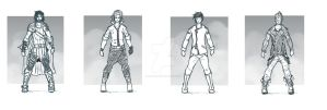 character designs set 1