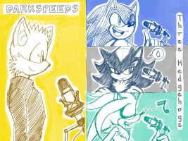 voice of three hedgehogs by ElsonWong