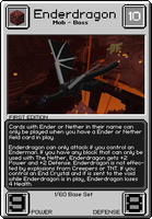 Minecraft TCG 01 - Enderdragon by MissingNo0