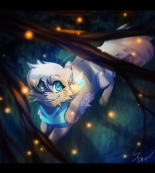 Exploring by Firelight by RiverSpirit456