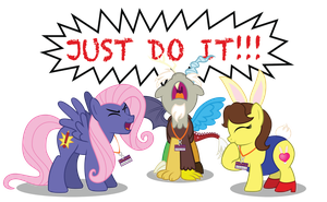 JUST DO IT bronies by AleximusPrime