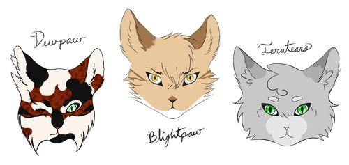 Character Heads by Liars-Syndrome