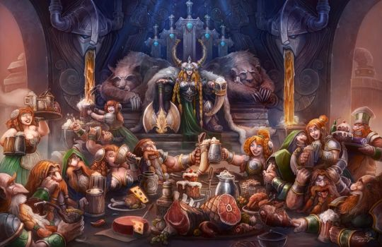 Hall of the Mountain Queen by SamwiseDidier
