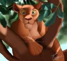 Nala in the Trees by Pri-3