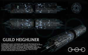 Guild Heighliner ortho by unusualsuspex