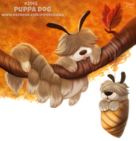 Daily Paint 2145. Puppa Dog by Cryptid-Creations