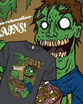 ZomBRAN! by Sickpuddle