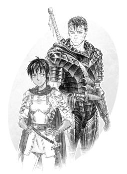 Berserk: Guts and Casca by Denoro