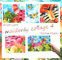 maidenly collage 4 - cat by Marsulu