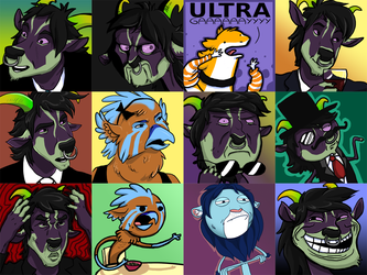 Rage Faces by Crazy-Dragon