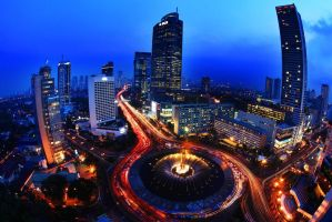 blue jakarta by dhikagraph