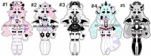 Pastel demon adoptables CLOSED by AS-Adoptables