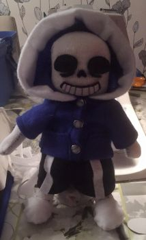 Sans doll by JuggeGurka