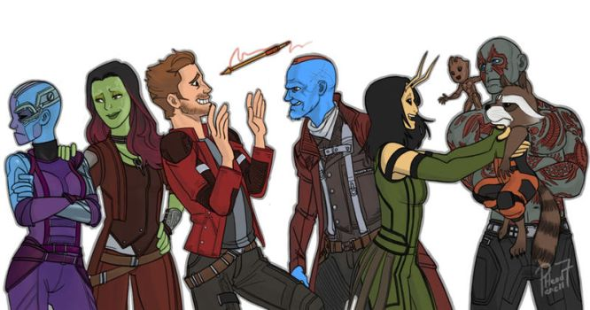 Guardians of the Galaxy 2 by pencilHead7