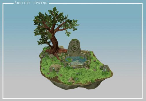 Ancient spring by Nat-the-witch
