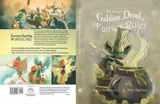 Goblins Drool Fairies Rule - Cover Spread by gameogami